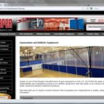 Draper's Gym Equipment Website