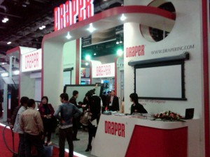 Draper's Booth at InfoComm China 2012