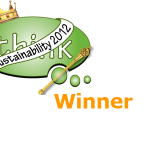 Sustainability 2012 Winner Logo