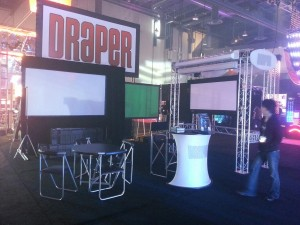 Draper booth at the LDI Show