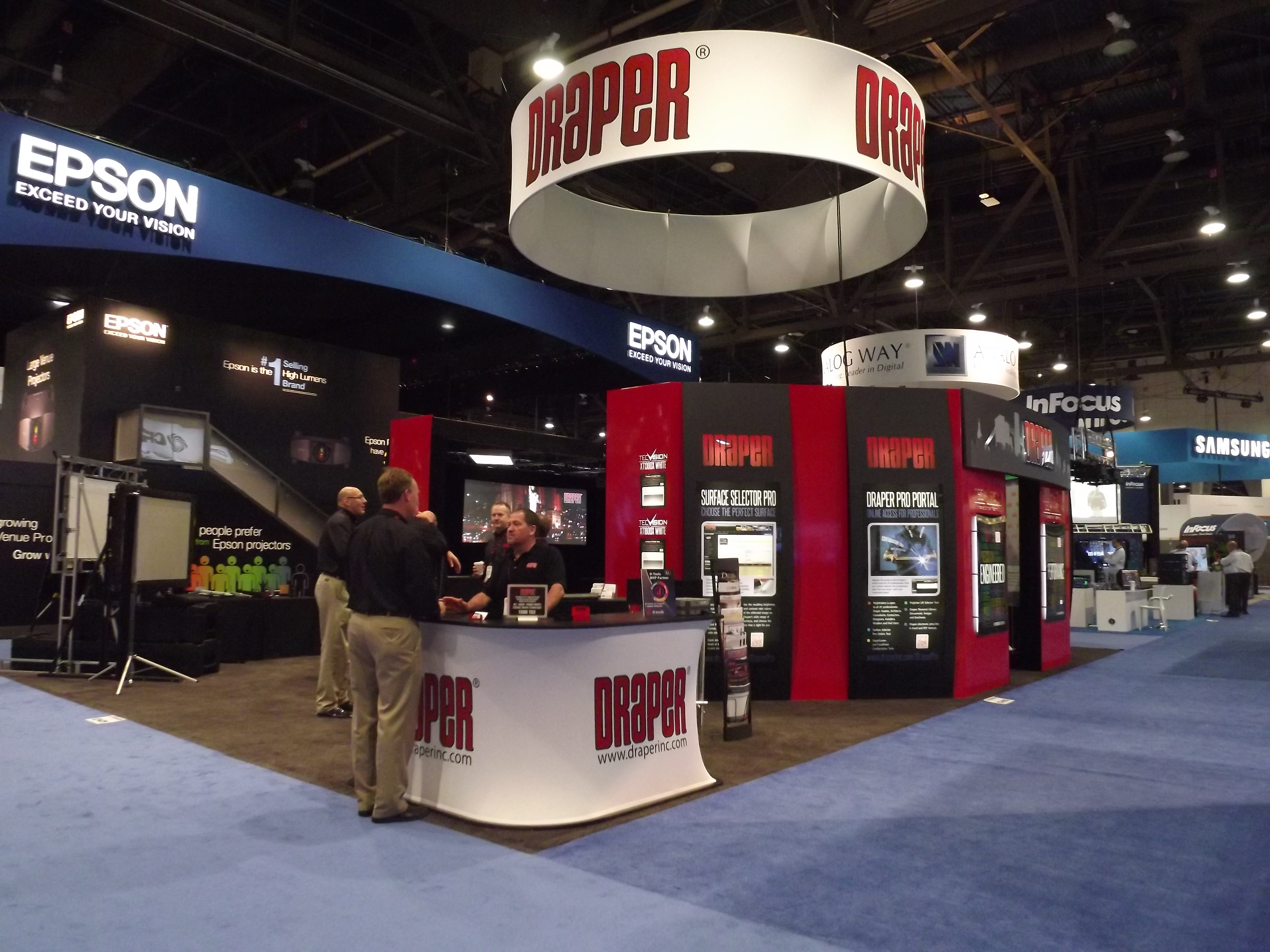 Images from InfoComm