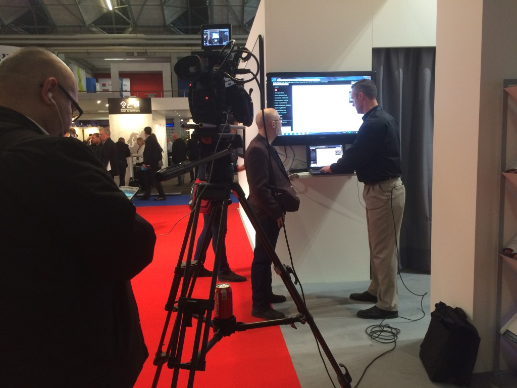 George Tucker of AV Nation interviews Draper's Jentry Wittkamper at ISE 2015.