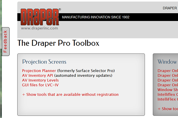 The Draper Pro Toolbox