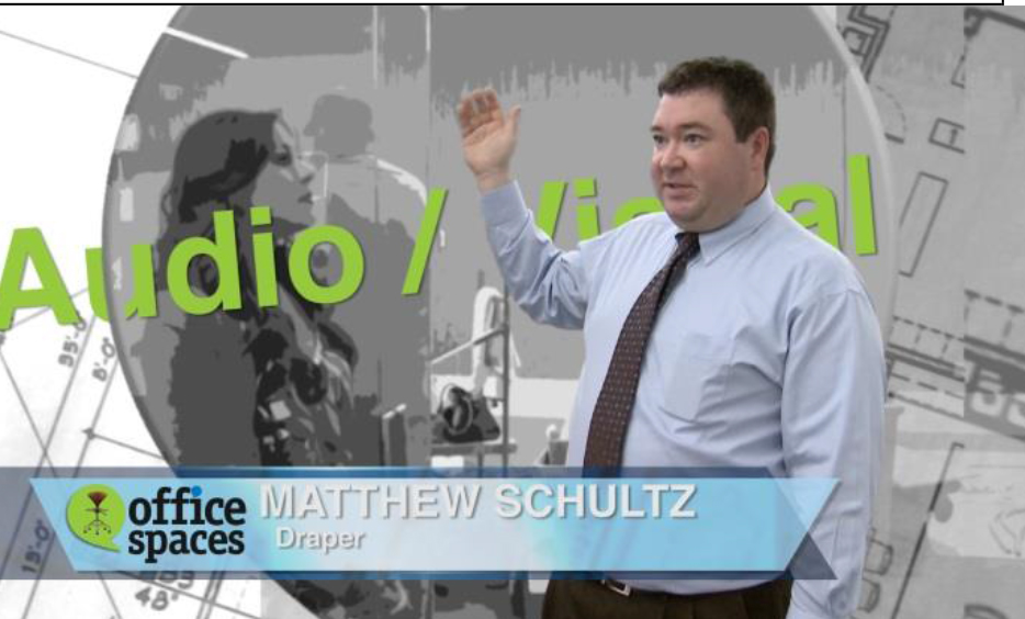 Draper's own Matt Schultz appears on the program to explain the choices for this particular space.
