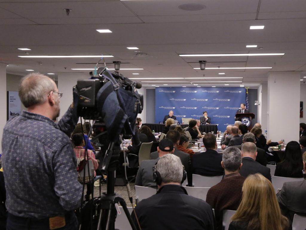 Press conference backdrop. Photo by Marty Katz, Washington. DC. Copyright 2014 by Marty Katz.