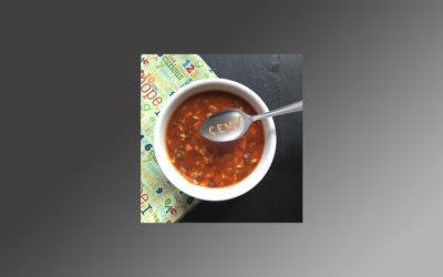 Projection Screen Alphabet Soup