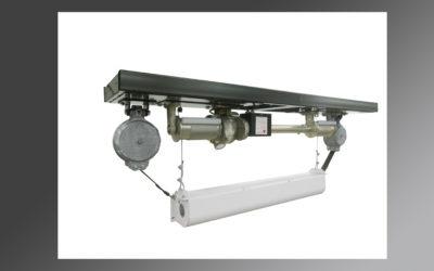 Lowering AV Equipment from a High Ceiling Just Got Easier