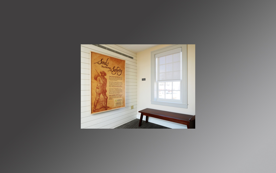 Draper Shades and the Underground Railroad