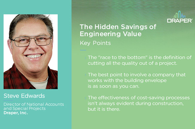 The Hidden Savings of Engineering Value
