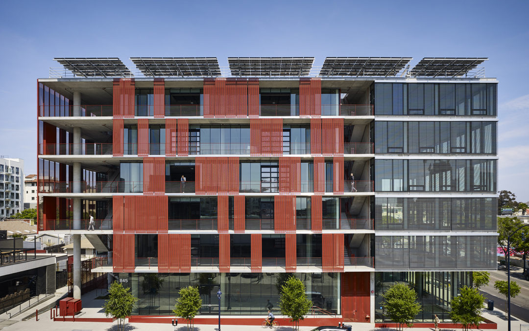 Draper Shading System Helps Net-Zero Building Beat Goals